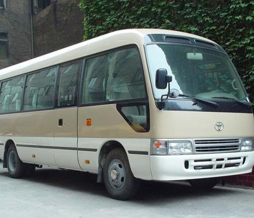 20座考斯特-中巴车租赁