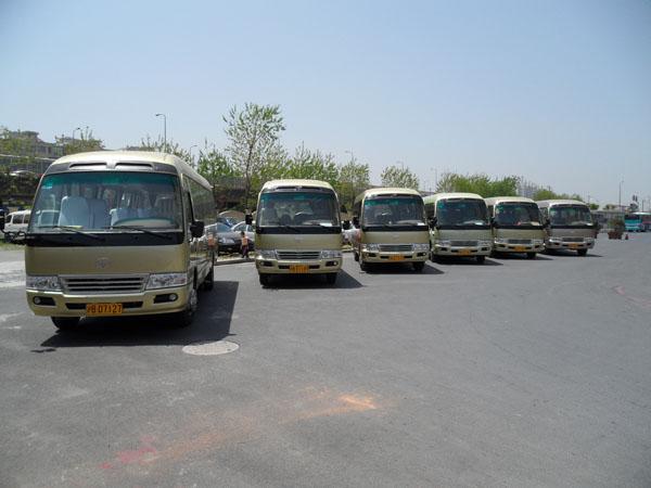 北京丰田中巴车租赁